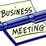 Business Meeting @ St. George's Fellowship Hall